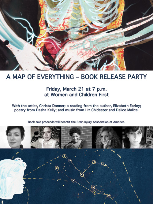 A Map of Everything Book Release - MARCH 21 - Women & Children First (Chicago)
